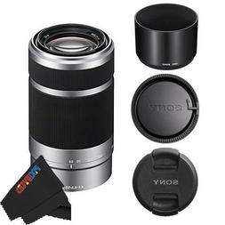 Sony E 55-210mm F4.5-6.3 OSS Lens for Sony E-Mount Cameras