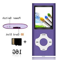 Tomameri - MP3 16 GB Micro SD Card and Maximum support 32GB,