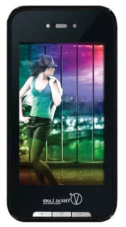Visual Land V-Touch Pro 4 GB Video MP3 Player with Touchscre