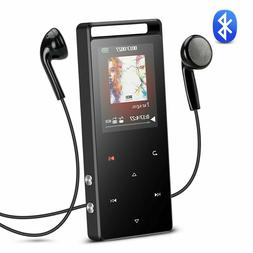 AGPTEK A01ST 16GB Bluetooth Metal MP3 Player Lossless Sound