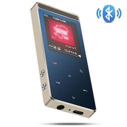 AGPTEK A01T 8GB Bluetooth Metal MP3 Player Lossless Sound Su