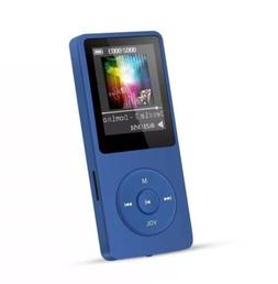 AGPtEK A02 8GB and 70 Hours Playback MP3 Player 32GB Dark Bl