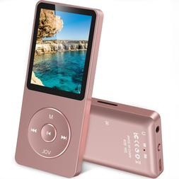 AGPTEK A02 8GB MP3 Player with FM Radio, Voice Recorder, 70