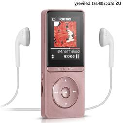 AGPtEK A20 8GB MP3 Player with FM Radio & Recorder 70 hours