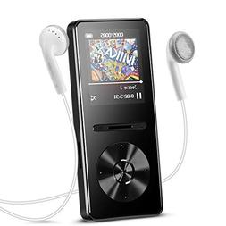 AGPTEK A29 8GB MP3 Player with in-line Control, Metal Lossle