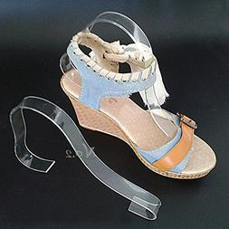 No.2 Warehouse Pack of 10 Acrylic Sandal Shoe Store Display