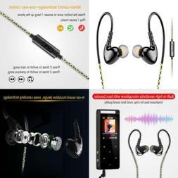 adjustable sport in ear wired earphone