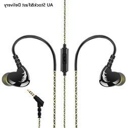 Adjustable Earphones Earbuds in Ear Headphones Wired Sports