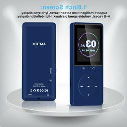 AGPTEK 16GB MP3 Player Radio/Voice Recorder 80 Hours Playbac