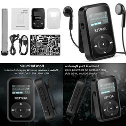 Agptek A26 8Gb Bluetooth Mp3 Player,Fm Radio Music Player Wi
