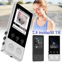 40 Hours BT 4.2 HiFi MP3 Music Player with FM Lossless Sound