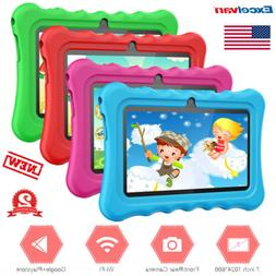 "Android 8.1 7"" 8GB Dual Camera Quad-core Tablet PC WiFi BT f"