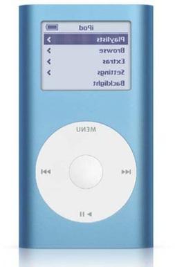 Apple Ipod Mini 1st Generation 4gb Mp3 Player Blue