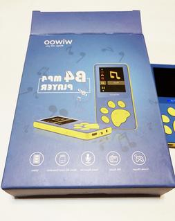Wiwoo B4 8GB Kids MP3 Players with Game for Child Children,P