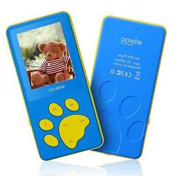 Wiwoo B4 8GB Kids MP3 Players With Game For Child Children ,