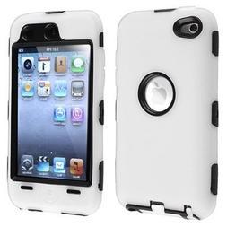 Importer520 Black Hard / White Skin Hybrid Case Cover compat