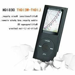 Tomameri Black Color Portable MP4 Player MP3 Player Video Pl