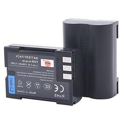 DSTE 2x BLM-1 Replacement Li-ion Battery for Olympus EVOLT E
