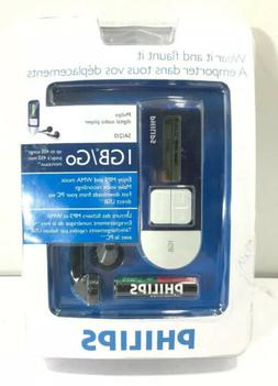 Philips Blue 1GB MP3 Digital Audio Player SA1210 See Details