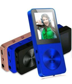 FecPecu BLUE MP3 & MULTIMEDIA PLAYER 8GB BRAND NEW
