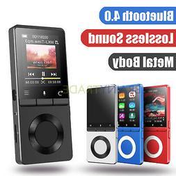AGPtek Lossless Sound MP3 FM Music Player LCD Screen Portabl