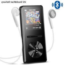AGPTEK MP3 Player Bluetooth 4.0 8GB Metal HIFI Music Player