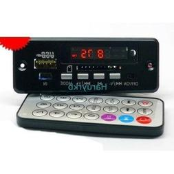 Bluetooth Amplifier mp3 decoder board W Call Features Digita