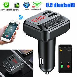 Bluetooth Car Set FM Transmitter Radio MP3 Player USB Charge