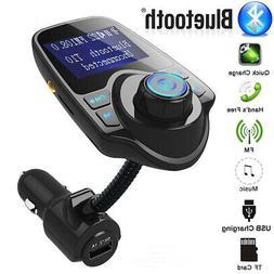 Bluetooth FM Transmitter Car MP3 Radio Adapter USB Charger K