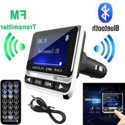 Bluetooth LCD Car MP3 Player FM Transmitter + Remote SD USB