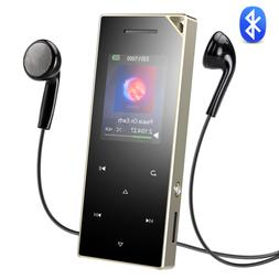 AGPTEK MP3 Player Bluetooth 16GB Music Player Speaker/FM Rad
