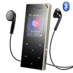 AGPTEK MP3 Player Bluetooth 16GB Music Player Speaker/FM Rad