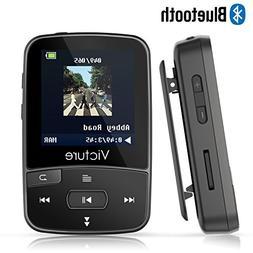 Victure Bluetooth MP3 Player 8GB Clip Sport Portable Lossles