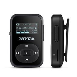 Bluetooth 8GB MP3 Player with Clip, AGPTEK A26 Hi-Fi Sound M