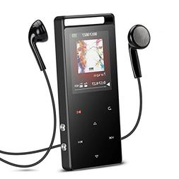 AGPTEK 16GB Bluetooth MP3 Player Touch Button with FM/Voice