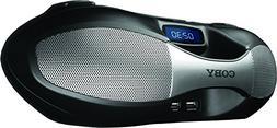 Coby Bluetooth Portable Boom Box with AM/FM Radio
