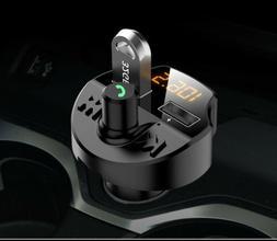 Bluetooth Wireless In Car MP3 FM Transmitter Car Radio Adapt