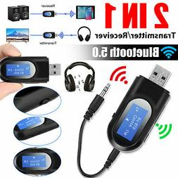 Bluetooth Wireless LCD Car MP3 Player FM Transmitter AUX SD