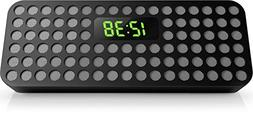 Philips Bluetooth Wireless Speaker with Clock Display