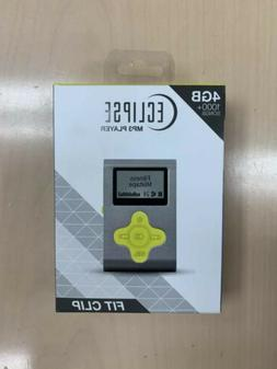 Brand New Fit Clip Eclipse MP3 Player 4GB 1,000+ Songs