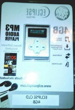Brand New Pantella Claro Eclipse CLD Silver  Digital MP3 Pla
