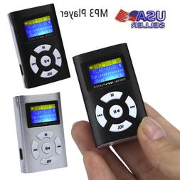 Brand New USB Mini Metal MP3 Player LCD Screen Support 32GB