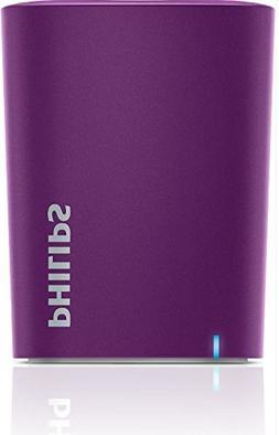 Philips BT100V/27 Wireless Mini Portable Bluetooth Speaker,