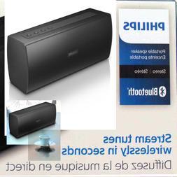 Philips BT3080B/37 Wireless Bluetooth Stereo Speaker Black N