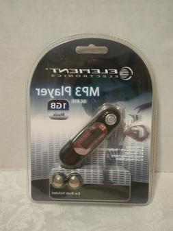 ELEMENT ELECTRONICS BUNDLE MP3 PLAYER W/ EAR BUDS GC-810 1GB