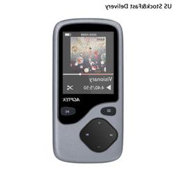AGPTEK 8GB Bluetooth MP3 Player Lossless Sound Supports up t