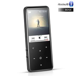 AGPTEK C2H 32GB Bluetooth 4.0 MP3 Player With 2.4 Inch TFT C