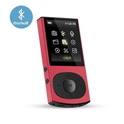 AGPTEK C3 8GB Bluetooth 4.0 MP3 Player, Metal Casing Lossles