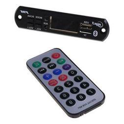 Car Audio USB TF FM Radio Module Wireless Bluetooth MP3 WMA