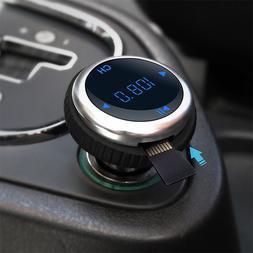 Car Bluetooth FM Transmitter FM Modulator Bluetooth Handsfre